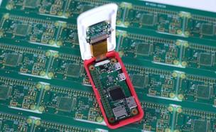 מחשב זעיר מדגם Raspberry Pi Zero W (צילום:  יחסי ציבור )