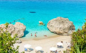 האי לפקדה ביוון (צילום: Lucian BOLCA, Shutterstock)