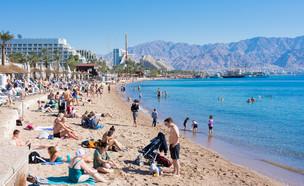 חוף באילת (צילום: dnaveh, Shutterstock)