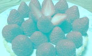 אשליה אופטית תותים (צילום: טוויטר)