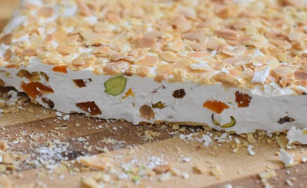 נוגט פיסטוק ומשמש (צילום: חן ואלון קורן, אוכל טוב)