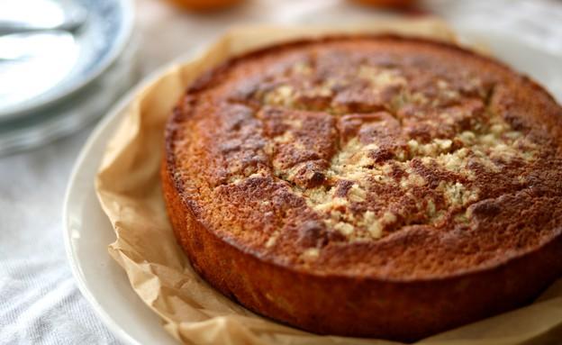 עוגת תפוז, יוגורט וקינמון סגורה (צילום: קרן אגם, אוכל טוב)