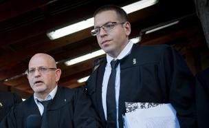 עורכי הדין הפורשים בסרגליק וכץ (צילום: פלאש 90, מרים אלסטר)