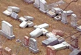 השחתת קברים בסנט לואיס