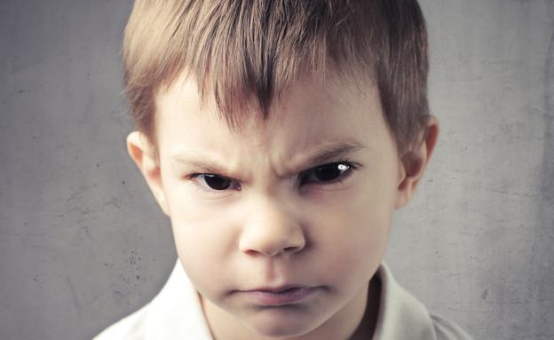 ילד עצבני (צילום: Shutterstock)