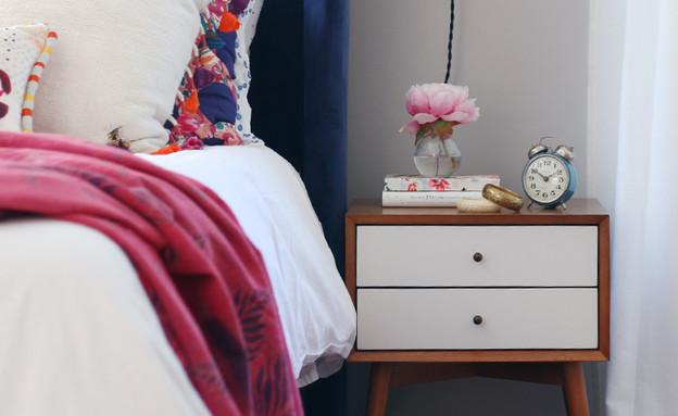08 מיטה מרופדת בעלת נוכחות דומיננטית ורכות מפנקת (צילום: מהבלוג Hous)