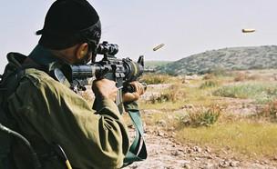 """18 שנה לגדוד נצח יהודה (צילום: דובר צה""""ל )"""