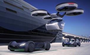 קונספט Pop.Up, מכונית אוטונומית מעופפת של איירבוס (צילום: Airbus / Italdesign)