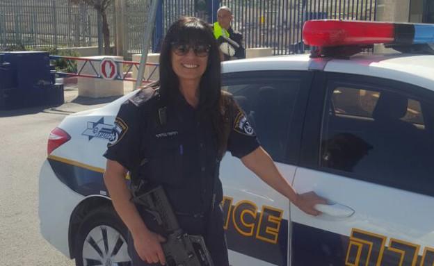רוחמה בניסטי-לימואי (צילום: דוברות משטרת ישראל)