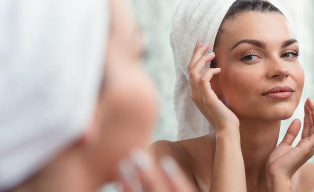 מסג' פנים (צילום: Shutterstock)