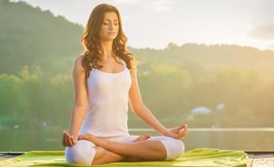 מדיטציה יוגה (צילום: Shutterstock)