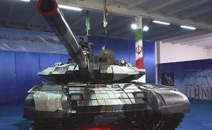 הטנק האירני החדש (צילום: אתר army recognition)