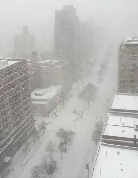 סופה בניו-יורק, ארכיון (צילום: ליאת צרפתי)