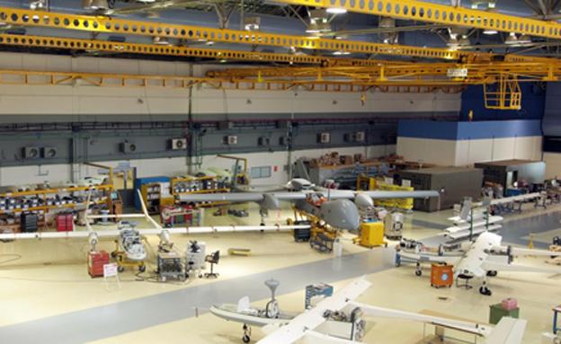 מפעל התעשייה האווירית, ארכיון (צילום: התעשייה האווירית)