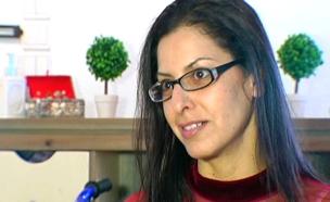 אמא של התאומות החולות בסרטן (צילום: חדשות 2)