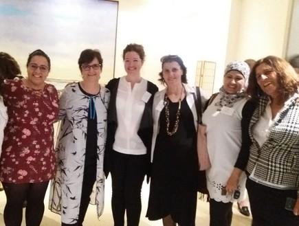 נשים עושות שלום בשגרירות קנדה