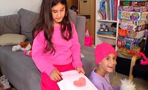 יהל ותהל. מאבק שלא נגמר במחלת הסרטן (צילום: חדשות 2)
