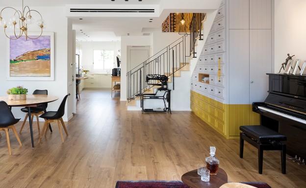 שמרית משען, מדרגות ומטבח (10) (צילום: שי אפשטיין בשיתוף יאיר ורון)