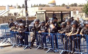 שוטרים בירושלים, ארכיון (צילום: שלמה מור)