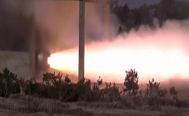 שידור הניסוי בצפון קוריאה (צילום: רויטרס)