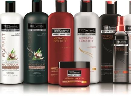 סדרת מוצרי עיצוב השיער של TRESemmé