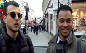 אסי מוצא את אחיו האבוד בלונדון (צילום: מתוך אנשים)