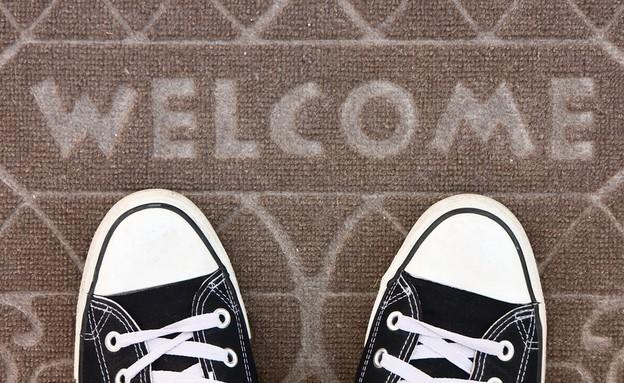 שטיח כניסה לאורחים (צילום: Shutterstock)