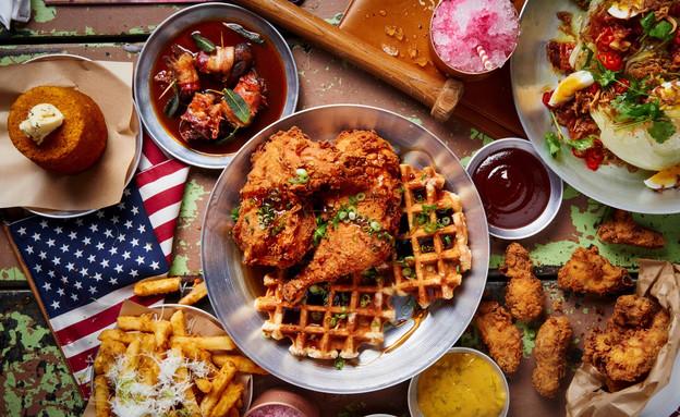 אכול כפי יכולתך, אמריקה (צילום: בן יוסטר,  יחסי ציבור )