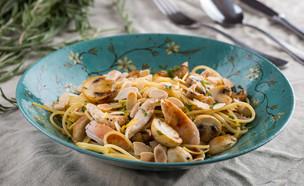 פסטה עם עוף ופטריות  (צילום: דרור עינב, אוכל טוב)