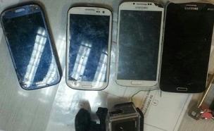 המכשירים הגנובים (צילום: דוברות המשטרה)