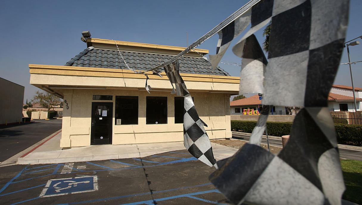 מסעדה סגורה בקליפורניה