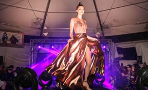 תצוגת אופנה למען השלום (צילום: נועם מוסקוביץ)