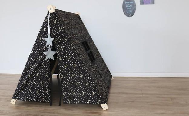 אוריתכהן04, אוהל קמפינג למשחק, מחיר-490 שקל (צילום: פיקולינה)