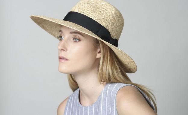 ליאתהדס02, כובע רחב שוליים של Justine, מחיר-340 שקל (צילום: יפעת ורציק)