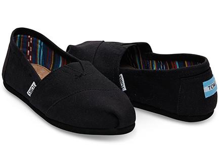 תמרמור01, נעליים של המותג Toms, מחיר-249 שקל