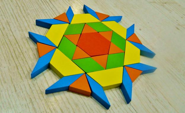 אוריתכהן01, משחק עץ גאומטריקס, מחיר-129 שקל (צילום: רונצ'יק בוטיק לילדים)
