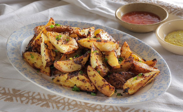 תפוחי אדמה בתנור (צילום: בני גם זו לטובה, אוכל טוב)