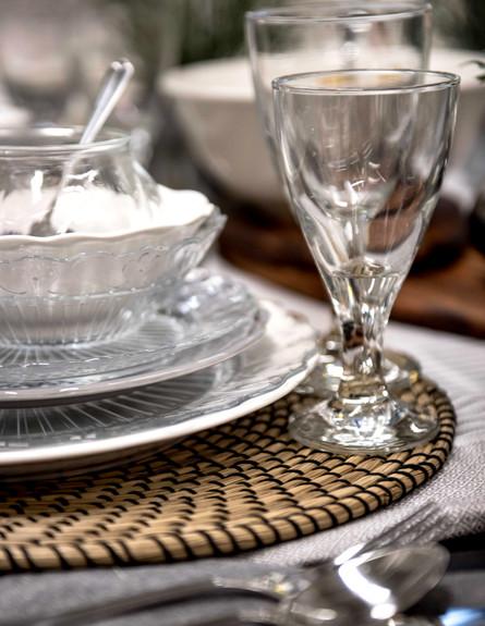 שולחן פסח איקאה, הכפרי, ג (1) (צילום: גלעד רדט)