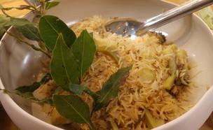 ארטישוק עם אורז של רן שמואלי (צילום: בני בכר, אוכל טוב)