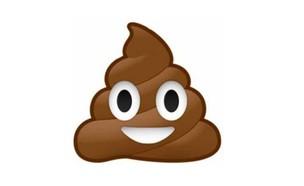 אמוג'י קקי מחייך (צילום: emoji keyboard)