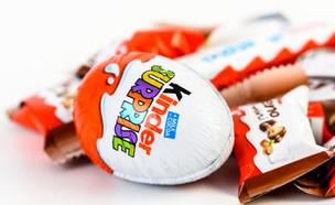 ביצת הפתעה ועוד מוצרי קינדר (צילום: Radu Bercan, Shutterstock)
