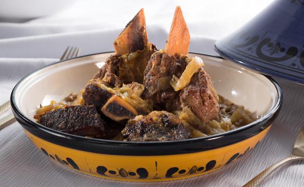 קדירת אסאדו בבצלים (צילום: בני גם זו לטובה, אוכל טוב)