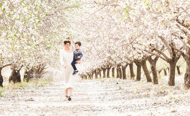 הריון בפריחה - אנדה יואל (צילום: אנדה יואל, צלמת היריון)
