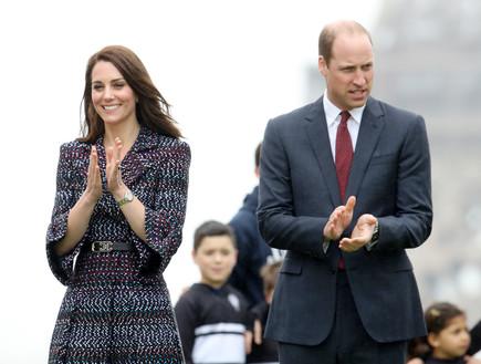 הנסיך וויליאם, קייט מידלטון אפריל 2017