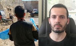 מתקפת גז בסוריה (צילום: רויטרס)