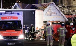פיגוע המשאית בברלין (צילום: רויטרס)