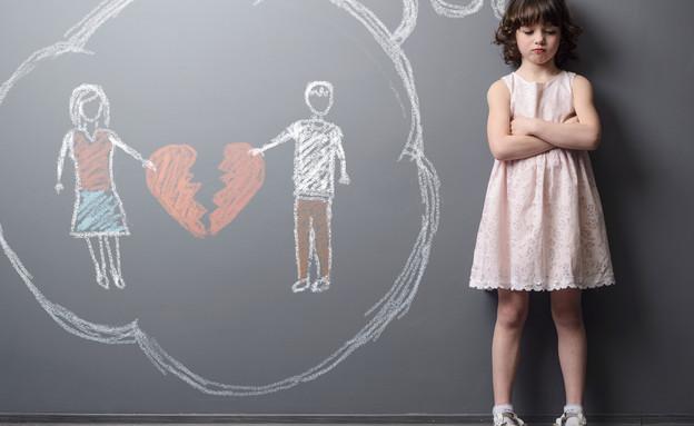 זוג מתגרש (אילוסטרציה: Shutterstock)
