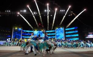 חגיגות ה-70 למדינה: הציבור יממן (צילום: יונתן סינדל, פלאש 90)