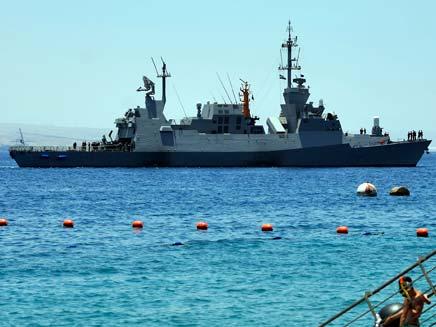 ספינת חיל הים (צילום: רויטרס)