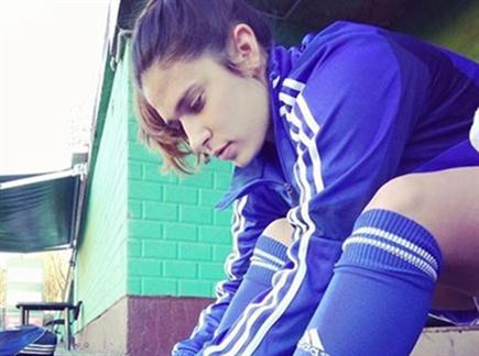 פלקון. הצלחה עצומה (נבחרת ישראל בכדורגל נשים) (צילום: ספורט 5)